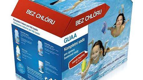 Sada bezchlórové bazénové chemie zn. Guapex. Určena pro všechny typy bazénů!