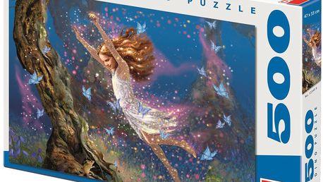 Puzzle DINO 500 dílků - Mel Grant, Lesní víla