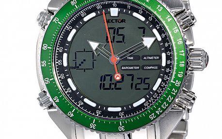 Pánske oceľové hodinky Sector