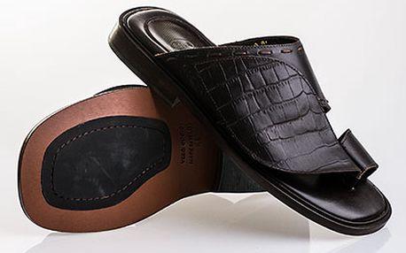 Pánské kožené pantofle Scholl
