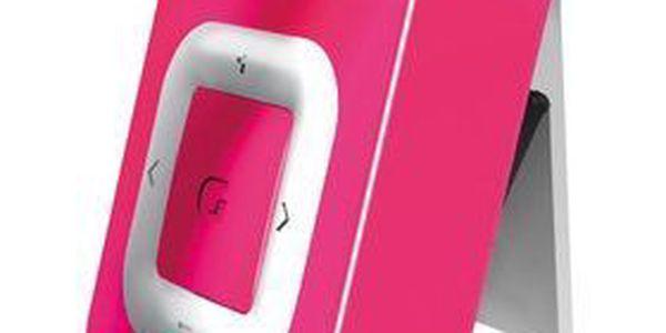 MP3 přehrávač GRUNDIG Mpaxx 4GB, miniUSB, Li-Pol. Velmi malý a nevšedně zpracovaný