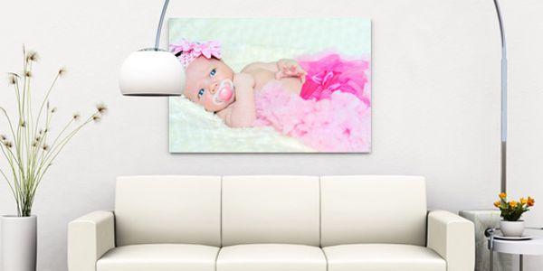 Tisk vaší fotografie na fotoplátno canvas na rámu