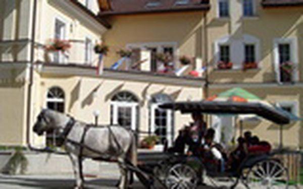 Mariánské Lázně až na 4 dny - wellness pobyt pro DVA v 4* hotelu Goethe včetně polopenze a relax procedur pro každého. Vše za 3.299 Kč za oba