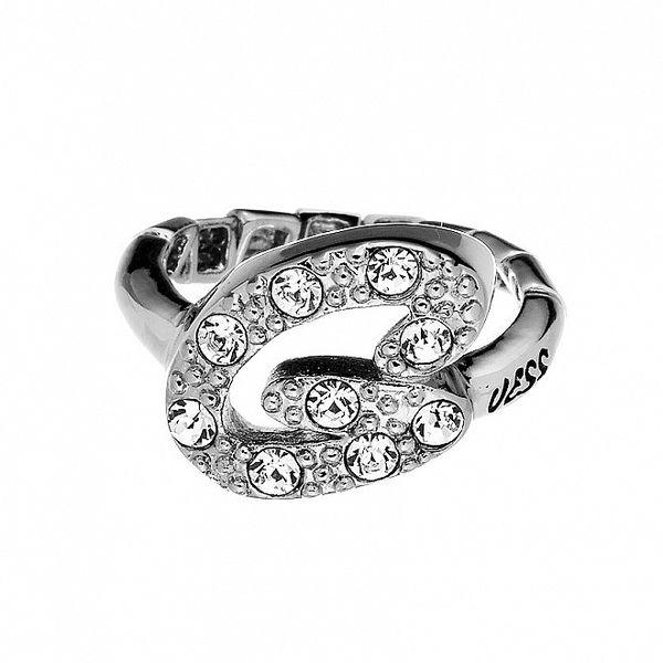 Dámský prsten s kamínky Guess