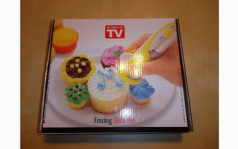 Pouhých 229 Kč za zdobící pero Deco pen, které se hodí k zdobení, plnění mufinů, dortů, sušenek, atd. Všechny Vaše dorty, cukroví nebo perníčky budou vypadat jako od cukráře!