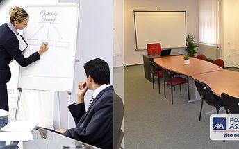 Pronájem kanceláře, školící, jednací či prezentační místnosti na Stodolní ulici v Ostravě! Hledáte prostor pro školení, výběrové řízení či prezentaci? Pronájem v centru Ostravy je tou nejlepší volbou!