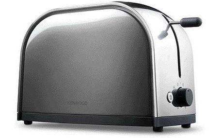 Topinkovač Kenwood TTM115 Graphite - kovový toaster na 2 plátky