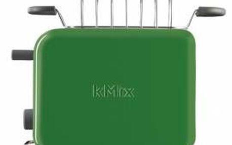 Kenwood TTM025 - kovový a stylový toaster na 2 plátky
