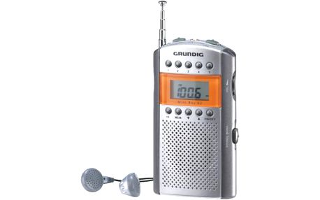 Kapesní rádio grundig mini boy 62