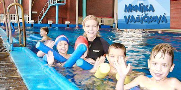 Plavání dětí s rodiči – 10 lekcí v centru Prahy