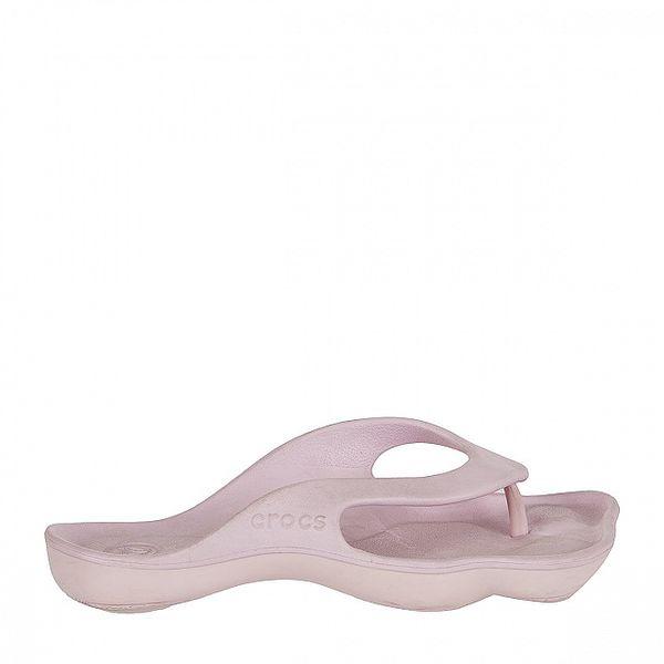 Dámske svetlo ružové žabky Crocs