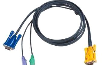 Integrovaný kabel 2l-5206p pro kvm ps/2 6 metrů