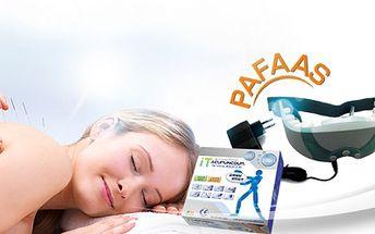 Profesionální RELAXAČNÍ PŘÍSTROJE - OČNÍ RELAX nebo Mini Inteligentní AKUPUNKTURA od jedinečných 185 Kč! Využívají znalostí tradiční čínské medicíny! Dopřejte si příjemný relax plný uvolnění a zdraví se slevou až 56%!