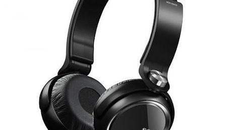 Elegantní sluchátka klasického provedení SONY MDR-XB400