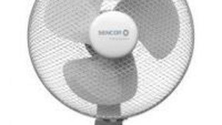 SENCOR Stolní ventilátor SFE 3031, 30cm, 3 stupně rychlosti, možnost oscilace