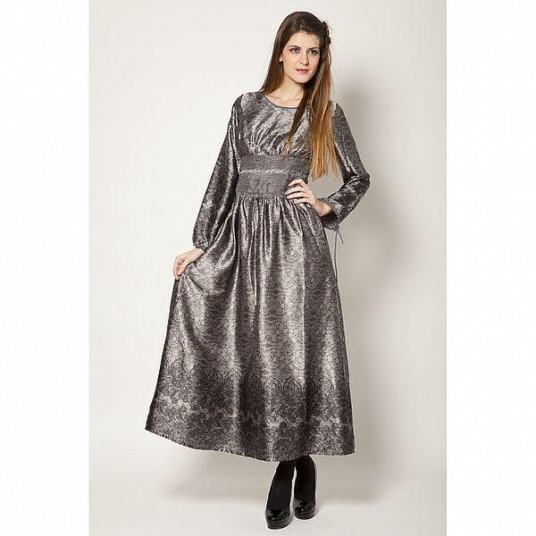 Dámske strieborné šaty Tantra