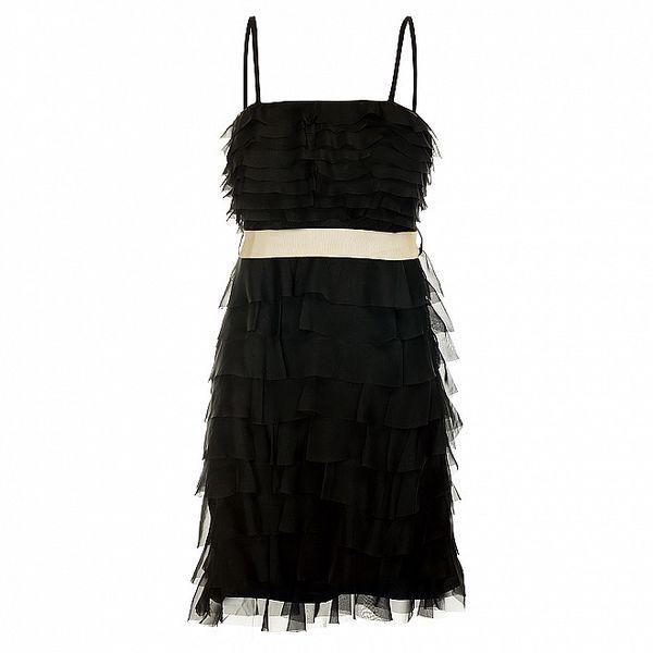 Dámské černé charlestonové šaty Lucy Paris