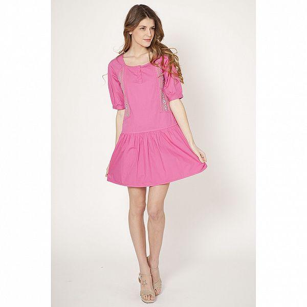 Dámské růžové šaty Tantra