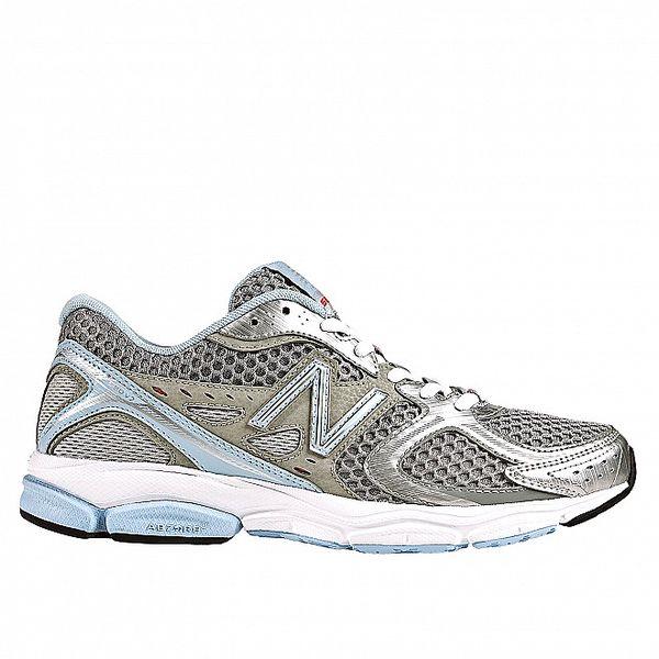 Dámské šedo-modré běžecké boty New Balance