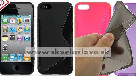 Obal z odolného a pružného TPU materiálu určený pre iPhone 5 v siedmich farbách za 3,10€ aj s poštovným.