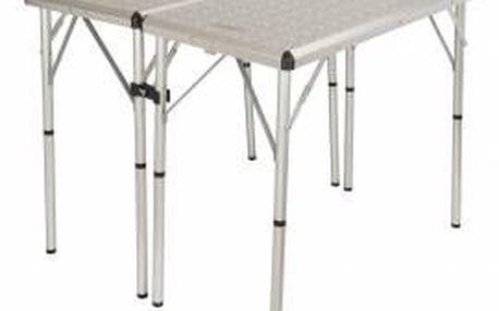 Stůl Coleman 6 v1 TABLE (pro 6 osob, 80 x 40 x 37/70/80 cm, 5800 g, hliníkový rám)