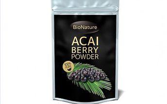 Acai Berry prášek 50g - jeden z nejsilnějších antioxidantů na světě