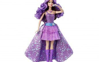 Barbie zpívající kamarádka. Lze ji proměnit zpopové hvězdy vprinceznu.