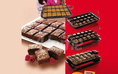 Pekáč Brownie, revoluce v pečení - upeče 18 dílů, každý zvlášť