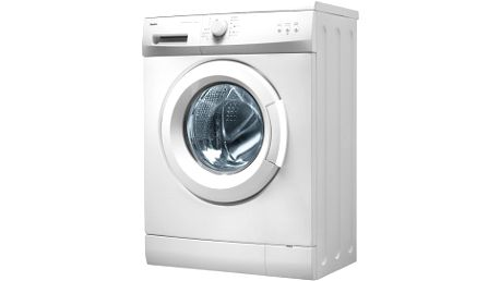 Úzká pračka AMICA AWSB 10 L v bílém provedení