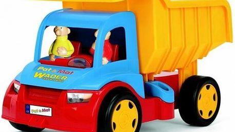 Velký náklaďák zkvalitního plastu Pat a Mat