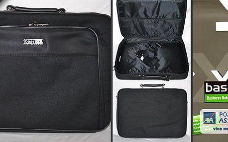 """Taška na notebook XXbase zn. DICOTA spolstrovaným oddílem pro notebook.Vhodná pro notebooky velikosti 17"""" - 18,4"""" !"""