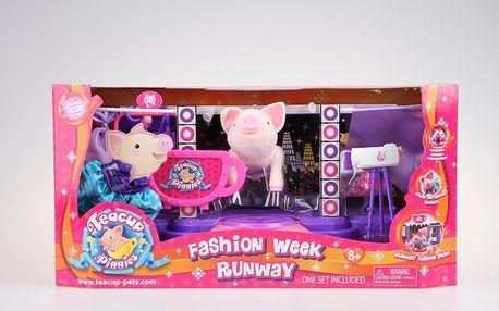 Teacup Piggies – módní salon. Prasátka v hrníčku jsou tví nejlepší kamarádi!