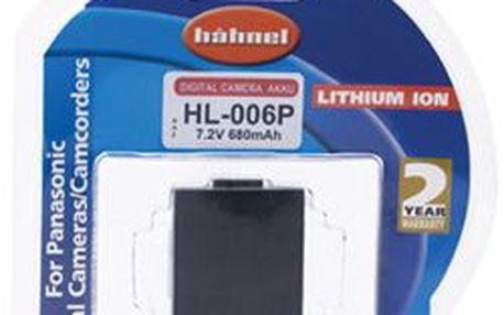 Baterie pro foťáky a kamery Panasonic Hähnel HL-006P - E61PHH10001723