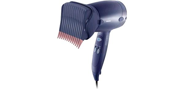 Vysoušeč vlasů Fén Philips HP 4867/00 narovnávání vlasů jen jednou rukou.