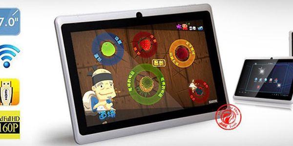 Blýskněte se před přáteli novou hračkou, mějte zábavu vždy po ruce! S tímto ultratenkým multimediálním tabletem budete hvězdou Vaší party!
