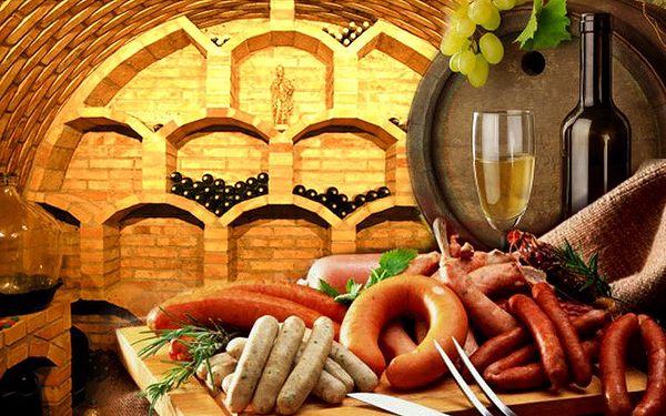 3denní degustační pobyt na Moravě pro 2 s neomezenou konzumací vína během jednoho večera