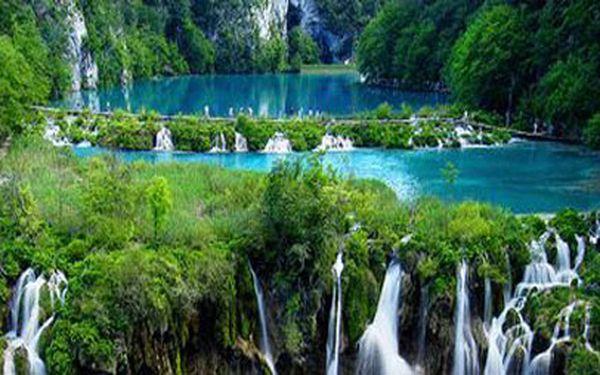 Úchvatný výlet na Plitvická jezera za 1850Kč!