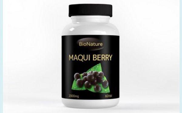 Maqui Berry tablety 60x2000mg - nejsilnější antioxidant na světě