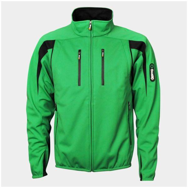 Pánská softshellová bunda Sweep69 zelená