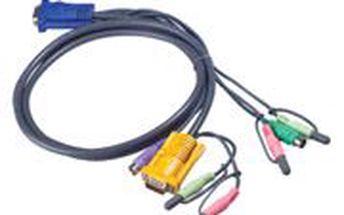 Aten kvm sdružený kabel k cs-1732,34,54,58, ps2, 3m
