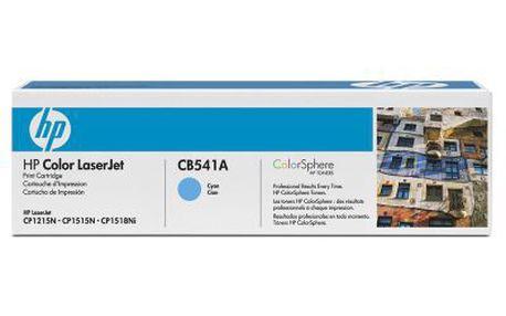 HP CLJ CP1215, CB541ACB541A. Alternativní modrý toner, výtěžnost až 1 400 stránek