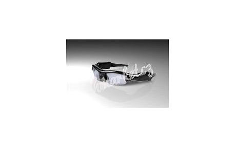 Technaxx sluneční brýle s integrovanou kamerou a fotoaparátem, VGA 640x480, microSD, 400mAH Li-pol