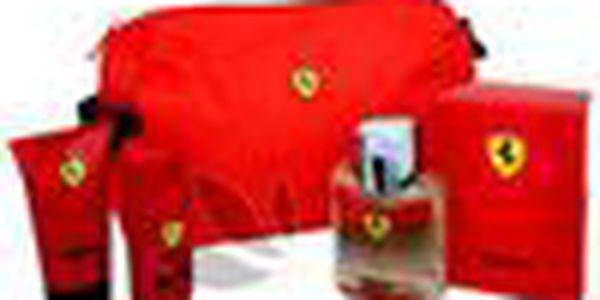 Pánská vůně FERRARI Red 125 ml. Zažijte pocit vlny vzrušení a adrenalinu
