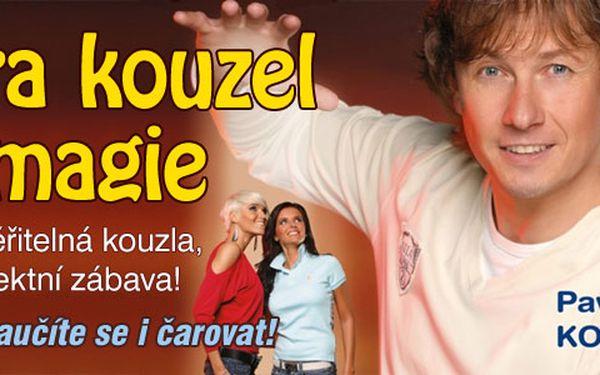 Hra kouzel a magie - dětské představení Pavla Kožíška v pražském divadle Metro