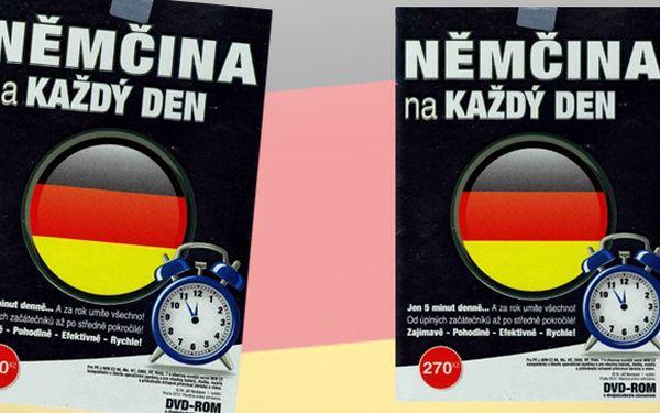 Výukové DVD němčiny včetně poštovného