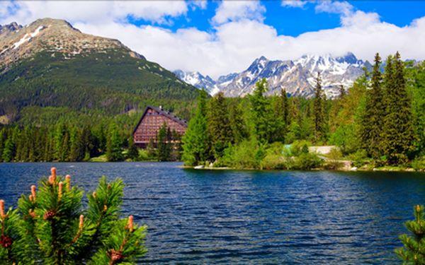 Vysoké Tatry, týden pod Gerlachem s polopenzí a vstupem do relax centra. Termíny duben - květen.