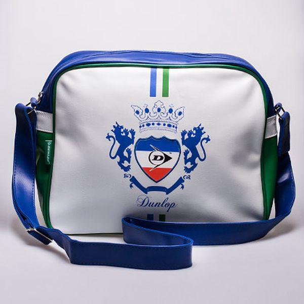 Dunlop taška přes rameno modro-bílá