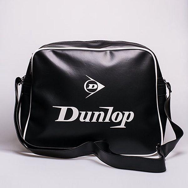 Dunlop taška přes rameno černo-bílá