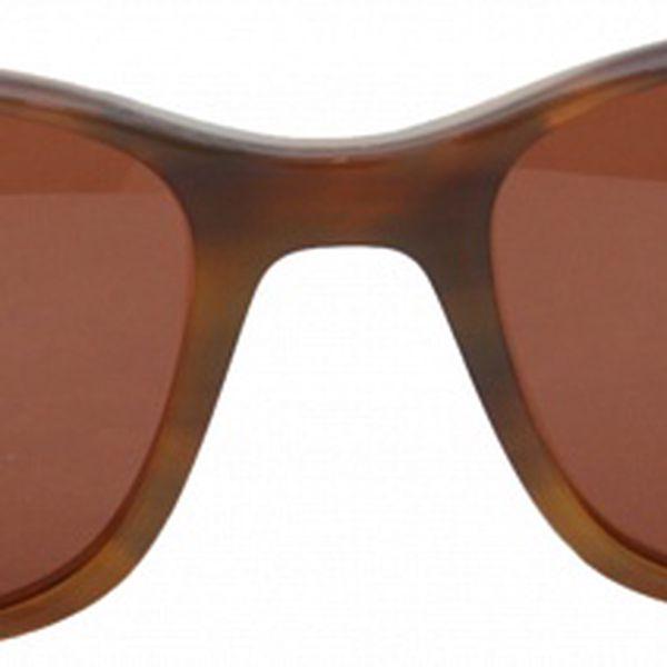 Dámské hnědé hranaté brýle Jil Sander