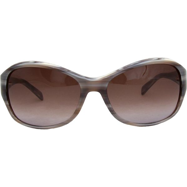 Dámské šedé retro žíhané brýle Jil Sander